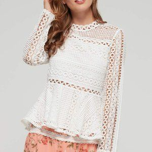 Endless Rose lace top, S